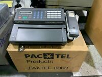 PAC TEL FAXTEL 3000 Thermal Fax BRAND NEW IN BOX!