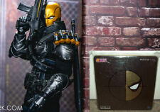 Mezco One:12 Deathstroke Stealth PX Previews Exclusive Figure MISB New batman