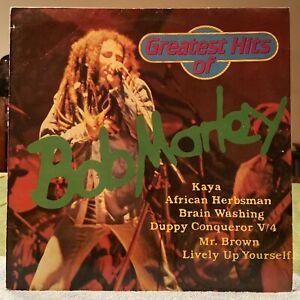 Bob Marley -GREATEST HITS~ German Import Pressing1980 Stereo /NICE COPY/Free Shp