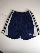 Vintage 90s Adidas Royal blue Tag 3 stripe drawstring soccer Futbol shorts M
