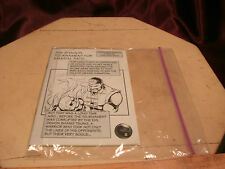 The Shaolin Tournament For Martial Arts DVD manual/instructions ONLY-free ship