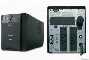 APC SUA750XL 750VA 600W 120V XL Smart-UPS Tower Battery Extended Power Backup