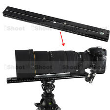 35cm Quick Release Plate f Camera Tripod Ball Head iShoot Telephoto Lens Bracket