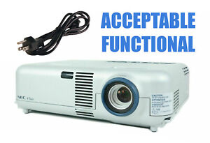 NEC VT460 3LCD Portable Projector - Acceptable Functional w/Power Cable