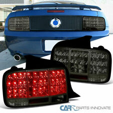 05-09 Mustang Sequential LED Smoke Lens Parking Tail Lights Brake Rear Lamps