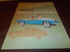 1958 Borgward Isabella Color Sales Brochure