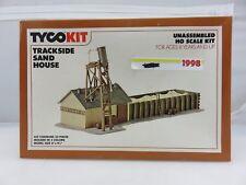 Tyco 7763 TRACKSIDE SAND HOUSE HO Scale Model Kit Railroading UNBUILT