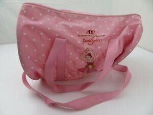ABT American Ballet Theatre Spotlights Pink Girls Tote Gym Bag