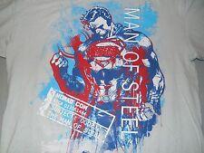 DC Comics Superman Man Of Steel Norad Com T-Shirt Youth Juniors XL
