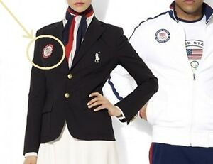 FANCY DRESS USA OLYMPIC TEAM INSIGNIA: as on USA TEAM dress jacket (VeIcrô)