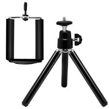 Universal Mini Flexible Phone Camera Tripod Stand Holder Mount Clip for iPhone
