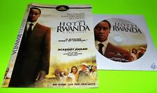 Hotel Rwanda (New Dvd Disc & Cover Art Only, No Case) + With Free Shipping Fast