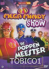 MEGA MINDY DE POPPENMEESTER SHOW - DVD SEALED