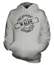 MADE IN WALES UNISEX HOODIE MENS WOMENS LADIES GIFT CHRISTMAS BIRTHDAY 50TH