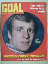 GOAL MAGAZINE APRIL 12 1969 MANCHESTER CITY - STOKE - LEICESTER - CARDIFF