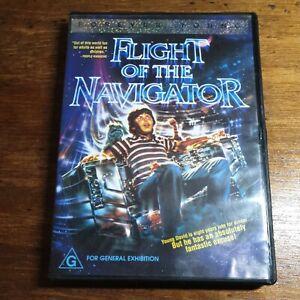 Flight of the Navigator DVD R4 LIKE NEW FREE POST