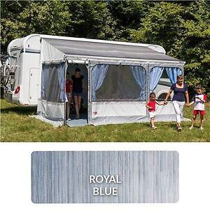 Fiamma Zip Top Awning Only 300 Royal Blue Canvas Motorhome Caravan Van 06463A01Q