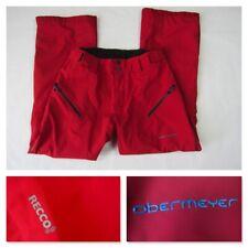 Obermeyer Process Ski Titan Pant Recco Technology Medium Red Ski Pants New