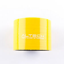 """3.15"""" inch / 80mm Silicon Straight Hose Coupler intercooler Pipe Yellow"""