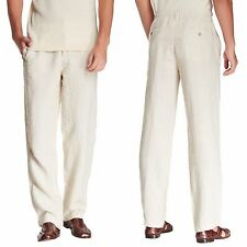 TOMMY BAHAMA Line Of The Times Linen Relax Pants in Rope Sz.M/32-34X34  NWT $110