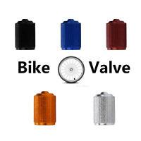 4pc Neumático llanta de aleación Rueda Polvo válvula Tapas Universal Moto Ciclo