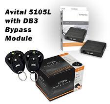Avital 5105L Alarm & Remote Starter Plus DB3 Bypass Module Package 1500 Ft