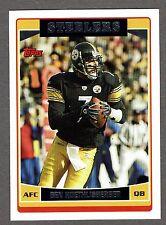 2006 Topps Football #214 Ben Roethlisberger Pittsburgh Steelers NMT