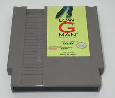 Low G Man Cartridge NES Original Nintendo Game R5281