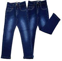 Boys Kids Slim Fit Jeans Designer Denim Stretchy Pants Fit Trouser Age 4 to 14 Y