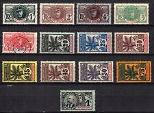 Ivory Coast 1906/07 Selection LMM/MM/USED SG Cat £135.00