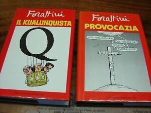 (Forattini) Provocazia + Il kualunquista 1986 Mondadori 1 ed.