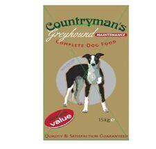 15KG RED MILLS COUNTRYMANS GREYHOUND LURCHER MAINTENANCE DOG FOOD