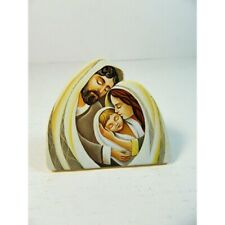Magnete con Natività da Attaccare o Poggiare Sacra Famiglia Presepe