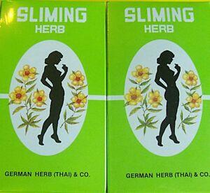 Minceur naturelle Régime SLIMING HERB TEA.100 sachets de thé tisane