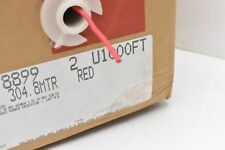 Belden 899 Test Probe Wire 18 AWG 304.8MTR Red Approx. 800'