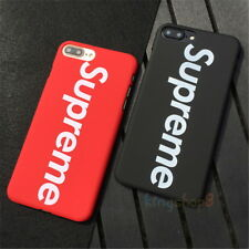 Supreme Fashion Black / Red Army Case Back Cover For iPhone SE 5s 6 6s 7 8 Plus