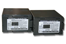 2x BATTERIA 5400mAh per Panasonic AG-HPX250EJ, AG-HPX250EN