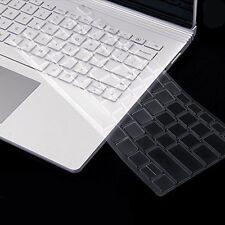 2016 Ultra Soft Silicone TPU Keyboard Cover Skin For Microsoft Surface Book 13.5
