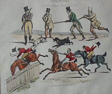PAIR Printworks, Symptoms, Characters on Horseback After Henry Alken c1950s/70s