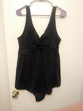 Motherhood Maternity Swimsuit Swimdress One-piece XL Black Modest
