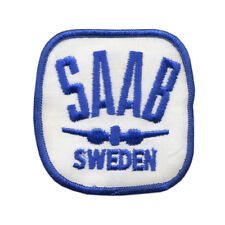 Saab Car Embroidered Patch