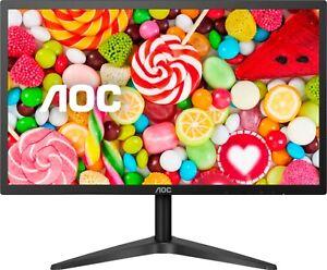 "SEALED AOC B1 Series 23.8"" Full HD IPS LED Monitor HDMI (24B1XHS) - Black"