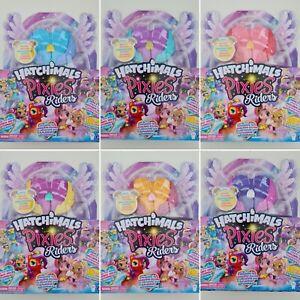 Hatchimals 6058551 - Pixies Riders, Hatchimal Set - Select Hatchimal Pixie Rider