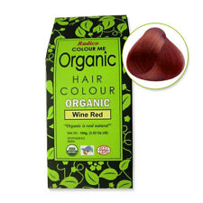 Radico Colour Me Organic Hair Dye Wine Red
