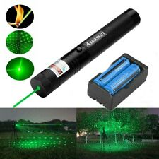 New listing Us Stock 900 Miles Star Green Laser Pointer Rechargeable Lazer+Battery+Charger