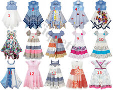 Carefully Selected Range of Domino Girls Dresses Ages 2 - 11 Years