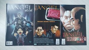 Angel Smile Time (2008) #1-3 Cover A Complete Collection. IDW Publishing. Buffy