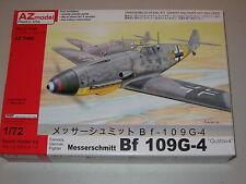 """1/72 Scale AZ Models Messerschmitt Bf 109G-4 """"Gustav 4"""""""