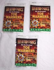 (3)Pairs Toe Warmers Hand Foot Warmer Hot Packs Heat Works 5 Hrs Pocket Heater 6