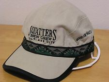 CAP SQUATTERS BREW CREW SALT LAKE CITY GOOD FOR WHAT ALES YOU VINTAGE RARE CAP